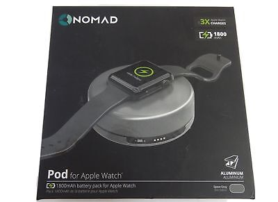 Nomad Pod Portable Charger 1800mAh For Apple Watch  Battery Pack - Open Box