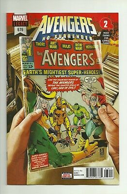 Avengers #676, Mark Brooks Cover A, First Appearance Voyager, Marvel Comics