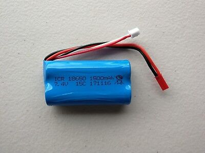 Au Store 2000mAh 2S 7.4V Li-ion Battery For RC Helicopter Car Boat Tank
