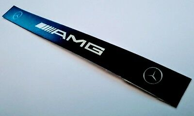 Mercedes W124 W126 W201 W463 reproduction AMG dome light indicator strip decal