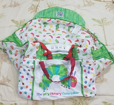 THE WORLD of ERIC CARLE Shopping Cart and Hi Baby Chair Cover White Polka dot