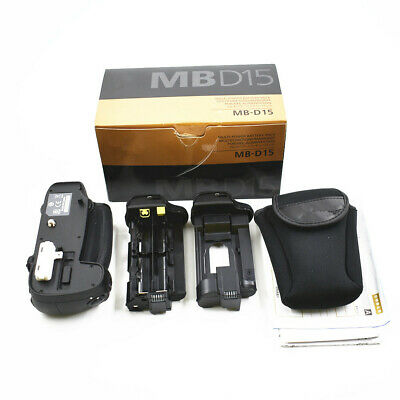 MB-D15 Multi-Power Battery Pack Grip for Nikon D7200 D7100 EN- EL15 & A USPS