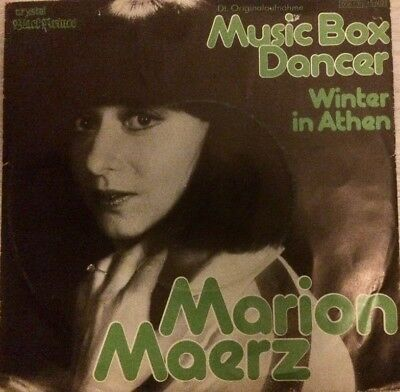 Marion Maerz Music Box Dancer Deutsche Originalversion 7""