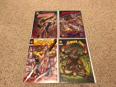 Leatherface 1 - 4  Complete Set   (Northstar 1991)