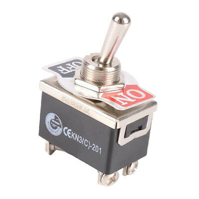 DPST 15A 125V 10A 250V ON/OFF Toggle Switch High Quality