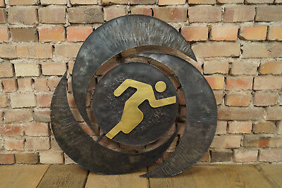 metal object picture Brutalist Wall Decoration Iron Plate Olympia