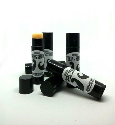 Gentlemans Moustache STICK F*CKING STRONG! Extra Hold Tash WAX Easy Apply tube!