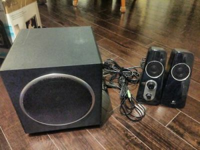 Logitech Z523 Computer Speaker System stereo speakers and subwoofer TESTED