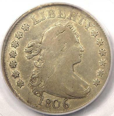 1806 Draped Bust Quarter 25C - PCGS F15 - Rare Early Date Coin - $1,375 Value