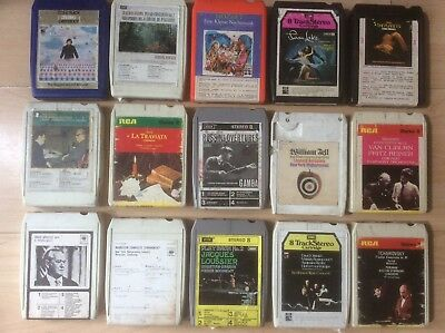 Choose from Loads of Different Tittles (8-Track Tapes) fully Refurbished