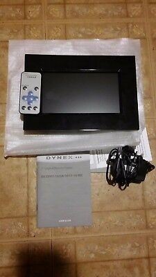 Dynex 7 Lcd Digital Photo Frame Black 7 Digital Picture Frame Dx