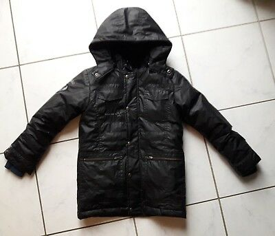 manteau grand froid 2 en 1 garcon 10 ans marque ooxoo comme neuf