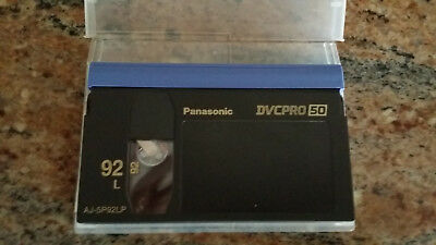 Panasonic AJ-5P92LP DVCPRO 50 Tape - 3 PCS