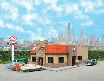 Dairy Queen Kit ( Grill N Chill ) - N Scale