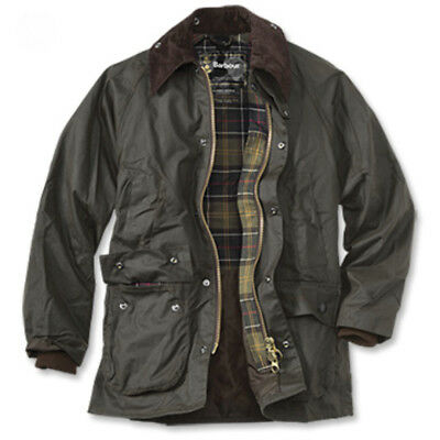 Barbour Classic Bedale Jacket Olive Waxed Cotton