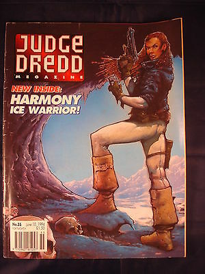 Judge Dredd Megazine - Issue 55 - June 10, 1994