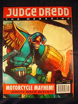 Judge Dredd Megazine - Issue 13 - Oct 17 - 30, 1992