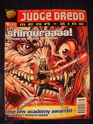 Judge Dredd Megazine - Issue 16 - April 1992