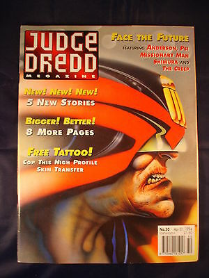 Judge Dredd Megazine - Issue 50 - Apr 01, 1994