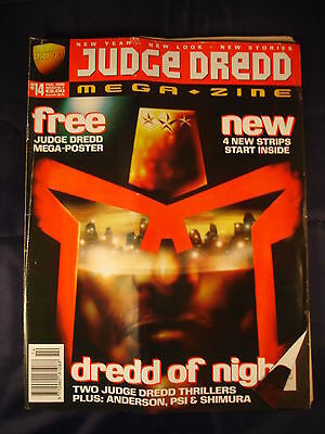 Judge Dredd Megazine - Issue 14 - February 1996