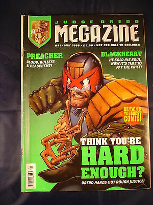 Judge Dredd Megazine - Issue 41 - May 1998