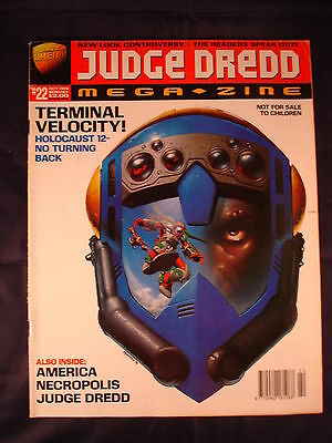 Judge Dredd Megazine - Issue 22 - October 1996