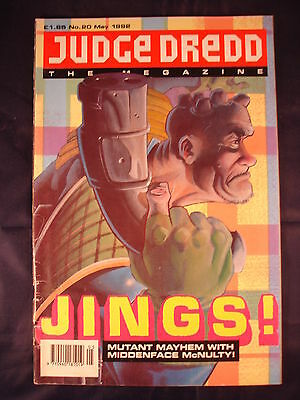 Judge Dredd Megazine - Issue 20 - May 1992