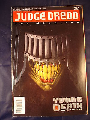 Judge Dredd Megazine - Issue 12 - September 1991
