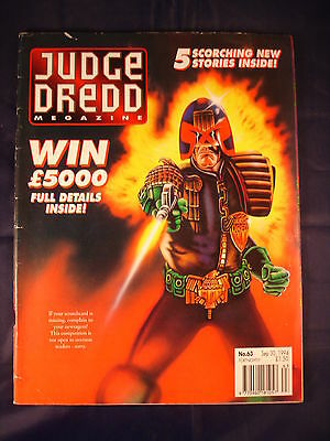 Judge Dredd Megazine - Issue 63 - Sep 30, 1994