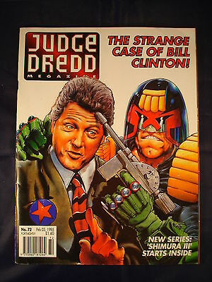 Judge Dredd Megazine - Issue 72 - Feb 03, 1995