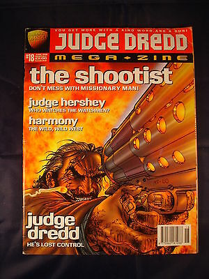 Judge Dredd Megazine - Issue 18 - June 1996