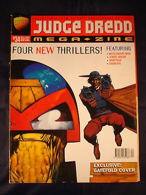 Judge Dredd Megazine - Issue 34 - October 1997
