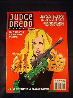 Judge Dredd Megazine - Issue 76 - Mar 31, 1995