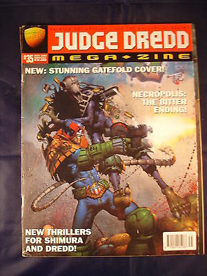 Judge Dredd Megazine - Issue 35 - November 1997