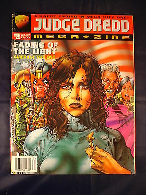 Judge Dredd Megazine - Issue 25 - January 1997