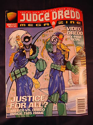 Judge Dredd Megazine - Issue 12 - December 22, 1995