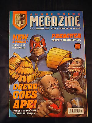 Judge Dredd Megazine - Issue 47 - November 1998