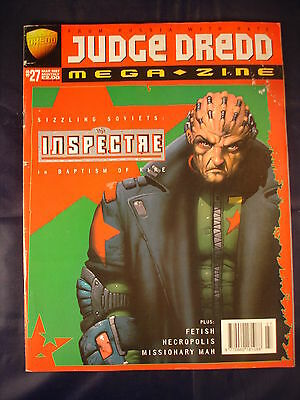 Judge Dredd Megazine - Issue 27 - Mar 1997