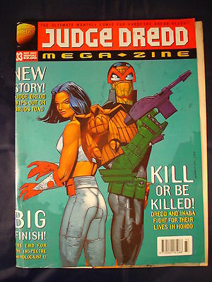 Judge Dredd Megazine - Issue 33 - September 1997