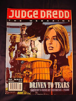 Judge Dredd Megazine - Issue 23 - Mar 06 - 19, 1993