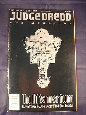 Judge Dredd Megazine - Issue 7 - Jul 25 - Aug 07, 1992