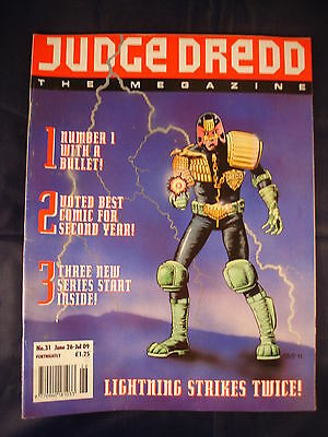 Judge Dredd Megazine - Issue 31 - June 26 - Jul 09