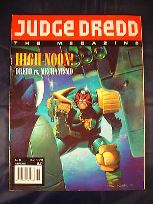 Judge Dredd Megazine - Issue 17 - Dec 12 - 25, 1992