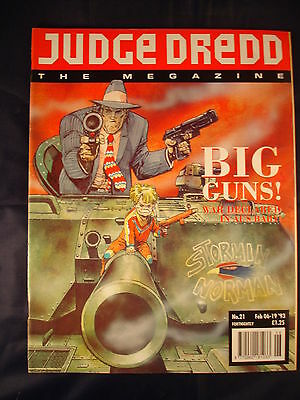 Judge Dredd Megazine - Issue 21 - Feb 06 - 19, 1993