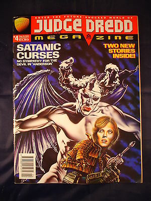 Judge Dredd Megazine - Issue 4 - September 01, 1995