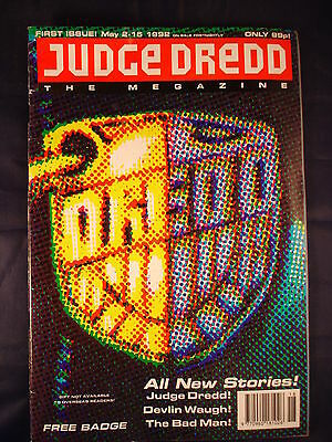 Judge Dredd Megazine - Issue 1 - May 2 - 15, 1992