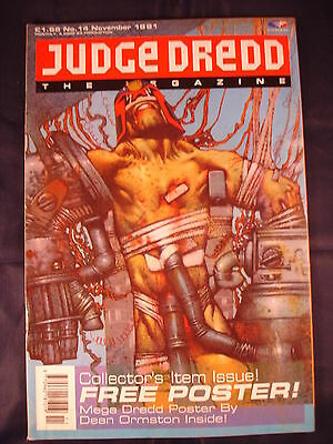 Judge Dredd Megazine - Issue 14 - November 1991
