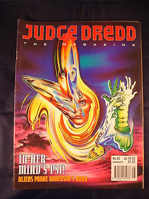 Judge Dredd Megazine - Issue 32 - Jul 10 - 23