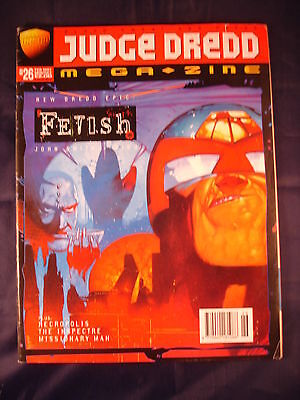 Judge Dredd Megazine - Issue 26 - February 1997