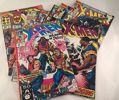 Lot 9 Issues UNCANNY X-MEN 280-288 First BISHOP 281 282 283 FREE SHIPPING Marvel